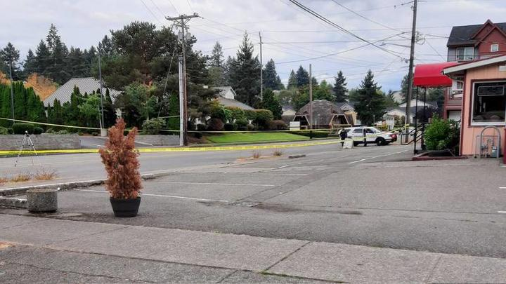 Cover for Woman shot and killed in Tacoma