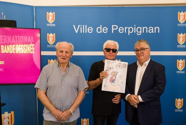 Picture for Perpignan: Metal Hairlant creator on the bill at the International Festival of Records and Comics
