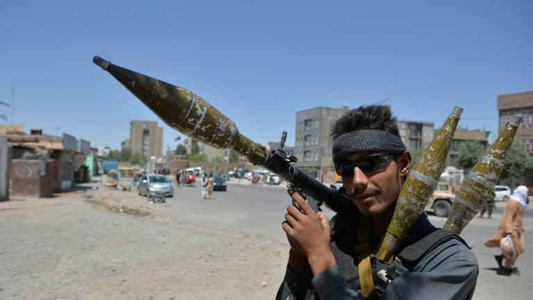 Picture for Afghan fighting rages as US and UK accuse Taliban of massacring civilians