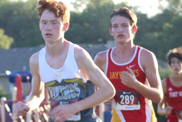 Picture for Area freshmen boy runners battle for top spots in Wellsville meet