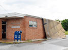 Picture for Unexpected wind/rain storm damages Sunset Post Office roof