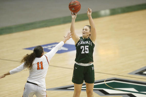 Picture for Hawaii women's basketball team announces schedule