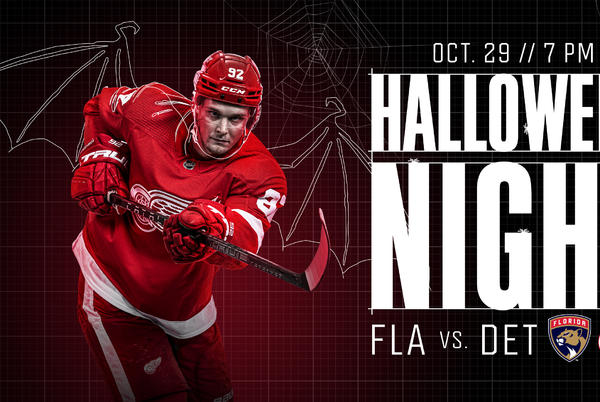 Picture for Red Wings to host Halloween Night Friday at Little Caesars Arena