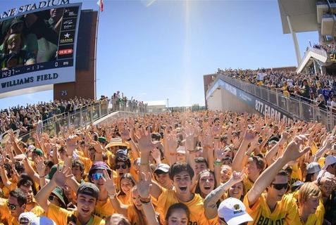 Picture for Bears roll at Homecoming over BYU: Notes and Images of the Game