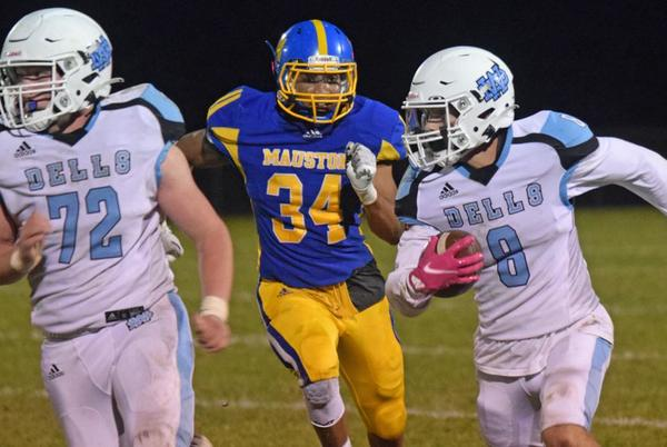 Picture for Photos: Action from Friday night's Wisconsin Dells vs. Mauston football game