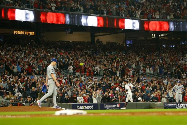 Picture for Dodgers' season ends with loss to Braves in NLCS