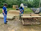 Picture for Area teenagers build accessibility ramp for resident