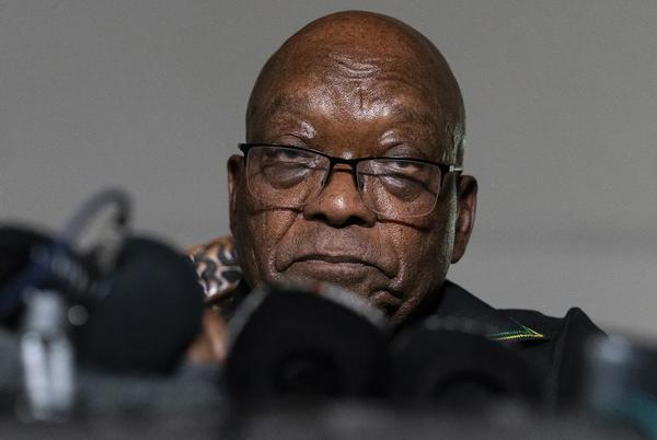 Picture for Zuma's trial postponed until October in South Africa