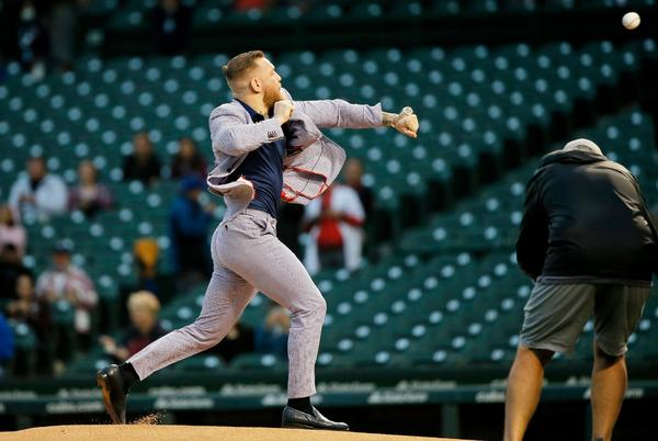 Picture for Rays minor league team Durham Bulls have best response to Conor McGregor's wild first pitch