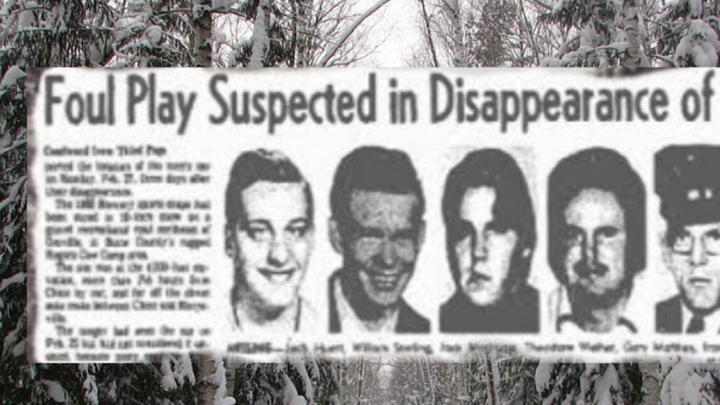 Cover for The Bizarre Disappearance of the Yuba County Boys
