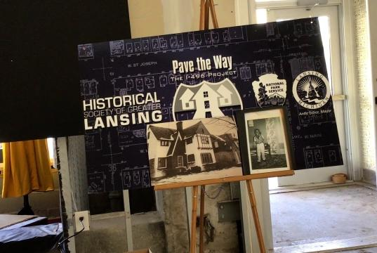 Picture for Exhibit detailing the destruction of historic Black community in Lansing leads to unexpected reunion