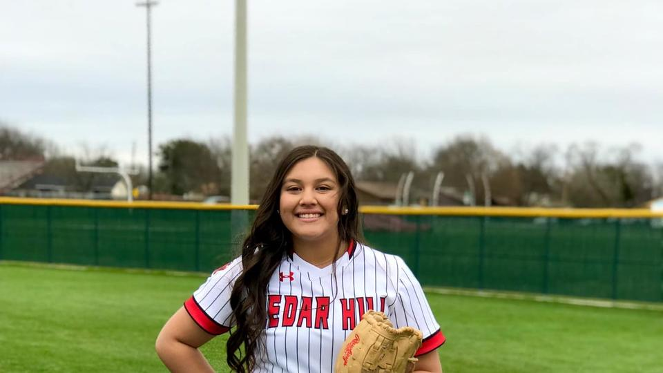 Cedar Hill Softball Catcher Commits to North Central University