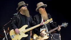 Cover for ZZ Top: Bearded bassist Dusty Hill dies in his sleep at 72