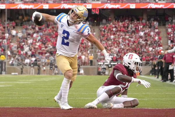 Picture for After 'inexcusable' start, Stanford rally falls short against UCLA