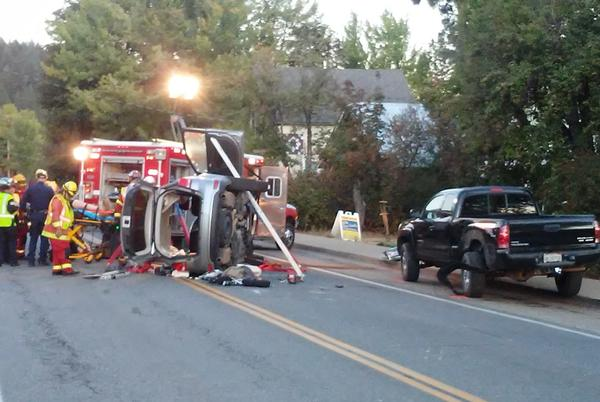 Picture for Single vehicle crash leads to extrication