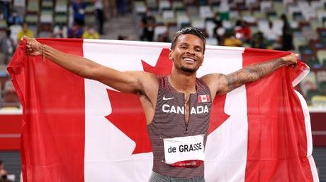 Picture for Tokyo Olympics: Andre de Grasse keeps the faith to finally become a champion with 200m gold