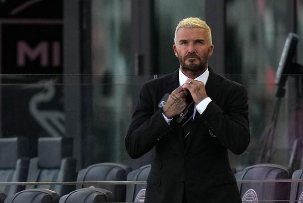 Picture for Beckham increases ownership stake in MLS club Inter Miami