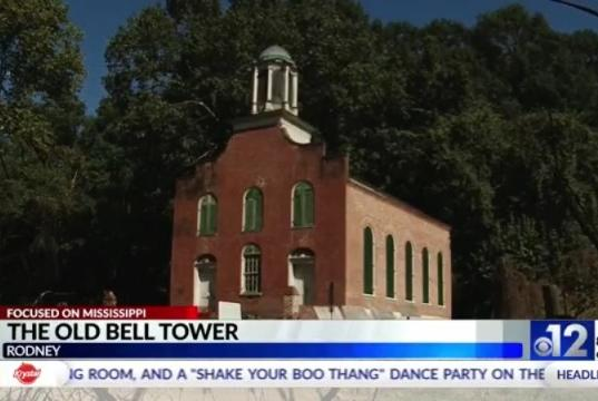 Picture for Focused on Mississippi: Restoring church's bell tower in Rodney