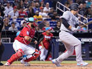 Picture for Yankees rally past Marlins with late hitting flurry