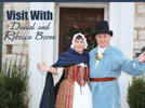 Picture for Visit with Daniel and Rebecca Boone Mar. 27, Apr. 17