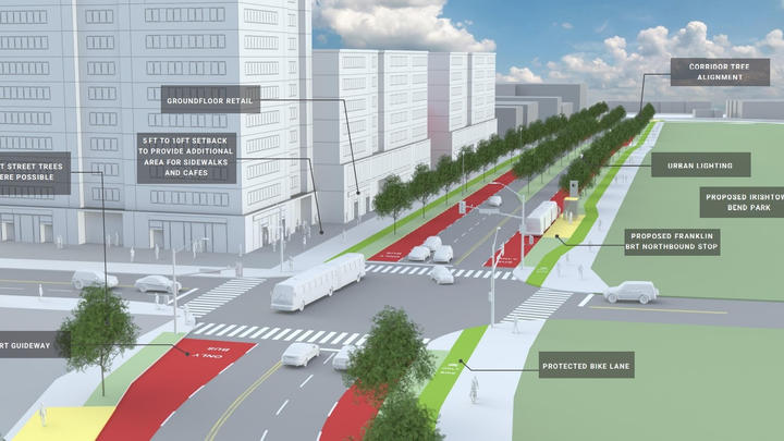 Cover for West 25th transit plan to give development a lift