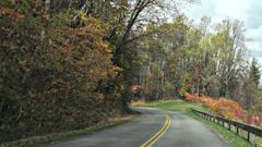 Cover for North Carolina man dies after motorcycle crash on Blue Ridge Parkway, rangers say