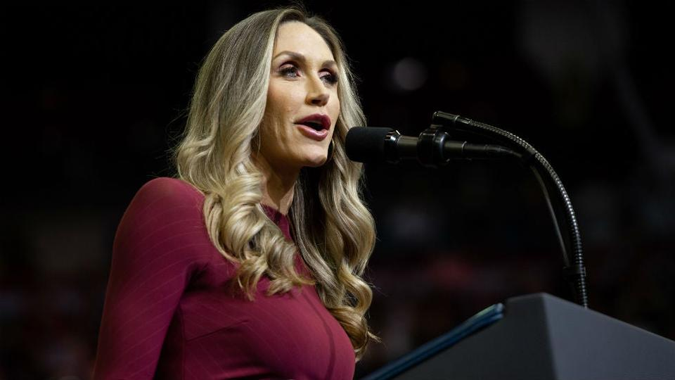 Picture for Lara Trump calls on Americans at border to 'arm up and get guns and be ready'
