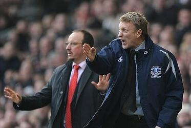 Picture for Rafa Benitez famously called David Moyes' Everton 'a small club' - leaving him to retort that they had 'dignity and style', unlike his Liverpool... there is little love lost as they prepare to lock horns again, with the Spaniard now in the Goodison hotsea