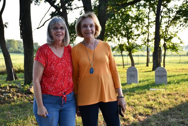 Picture for Two cousins purchase an old Lawrence County cemetery and are working to preserve history