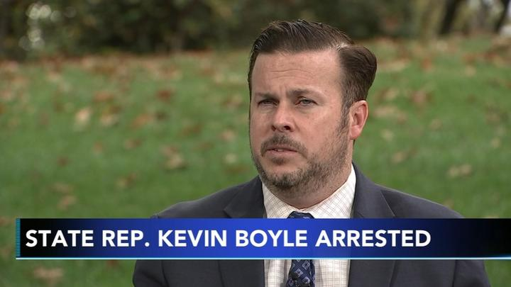 Cover for Pennsylvania State Rep. Kevin Boyle arrested, charged after violating protection from abuse order