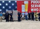 Picture for Mont Belvieu FD receives canned drinking water for wildfire response