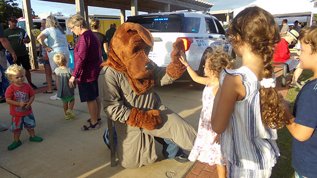 Cover for Nags Head's National Night Out event sees great turnout