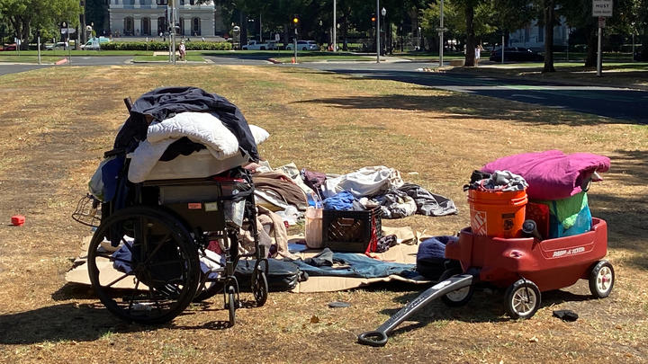 Cover for California's homeless problem boils down to wages and available affordable housing