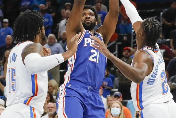 Picture for Not Quite Contenders: Sixers Barely Crack Top 10 in NBA Power Rankings