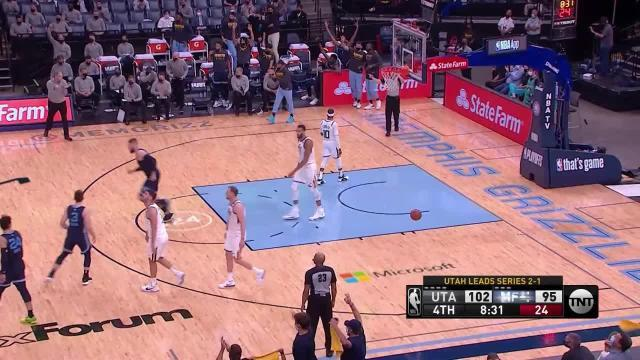 Picture for Memphis Grizzlies   3-pointer by De'Anthony Melton