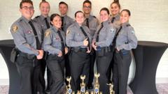 Cover for Palm Bay Police Explorers Bring Home Honors in Florida Police Explorers State Competition