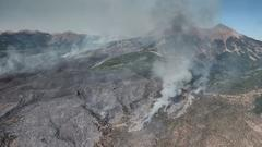 Cover for Wildfire updates: New fire in Tooele County; crews gain containment on Bear, Pack Creek fires