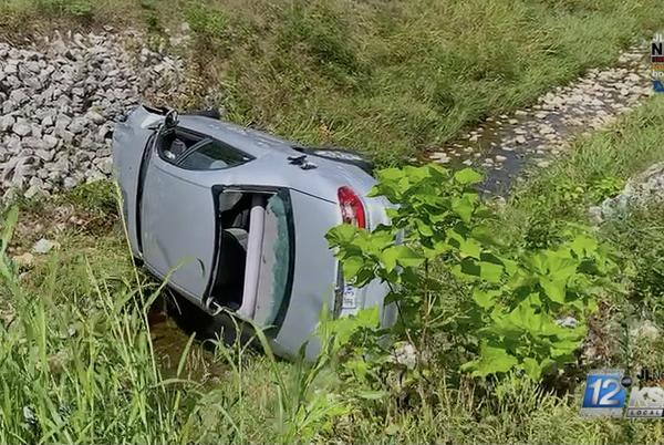Picture for Teen flips vehicle into runoff creek in Chitwood Neighborhood of Joplin