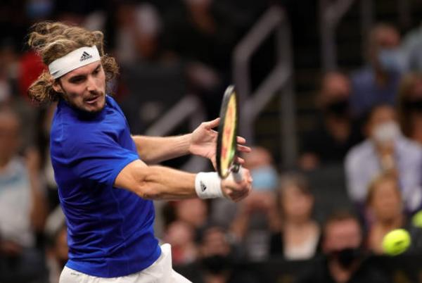 Picture for Tsitsipas tames Kyrgios | Breakpoint