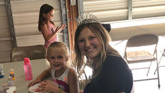 Cover for SOUTHERN IOWA FAIR QUEEN LIKES HER JOB