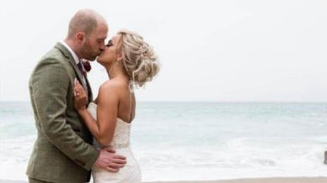 Picture for Gordon Ramsay 'gatecrashes' couple's dream beach wedding by filming TV show and 'ruining their pictures'