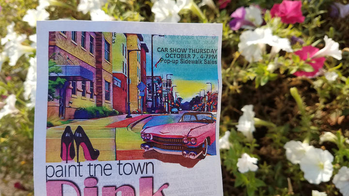 Cover for Paint the Town Pink Celebration Coming to Chippewa Falls