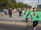 Picture for 'Be who you are': Dillingham marches in Pride for the first time