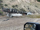 Picture for UPDATE: Lanes now open after semi-truck rollover near Swan Valley