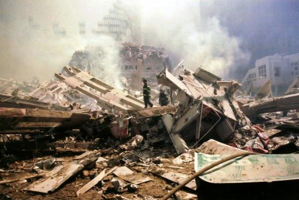 Picture for 'We watched in horror' - readers remember where they were on 9/11