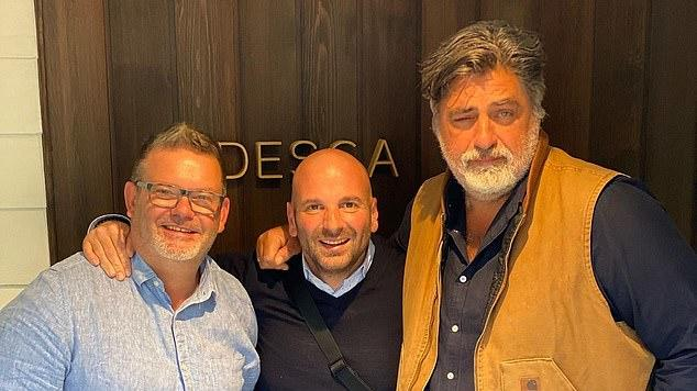 Picture for Original MasterChef judges Matt Preston, George Colombaris and Gary Mehigan reunite for Christmas lunch following George's scandal
