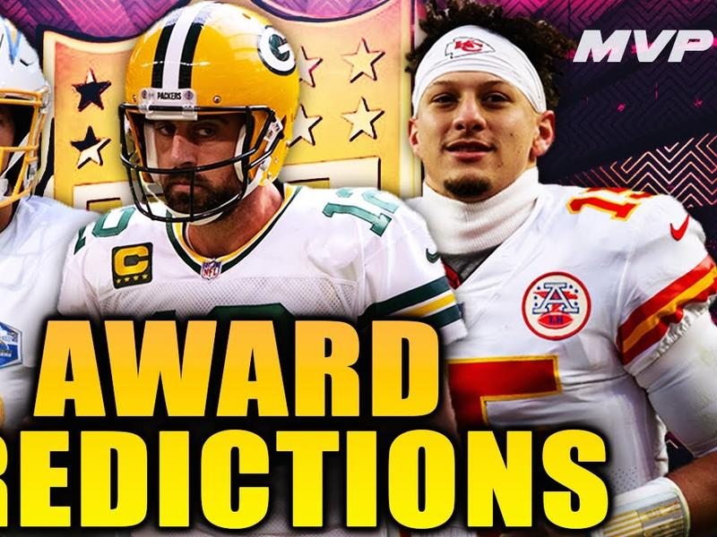 2020 - 2021 NFL Awards Predictions | News Break