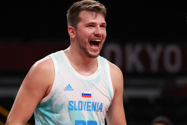 Picture for Luka Doncic is putting together an Olympic masterpiece for Slovenia