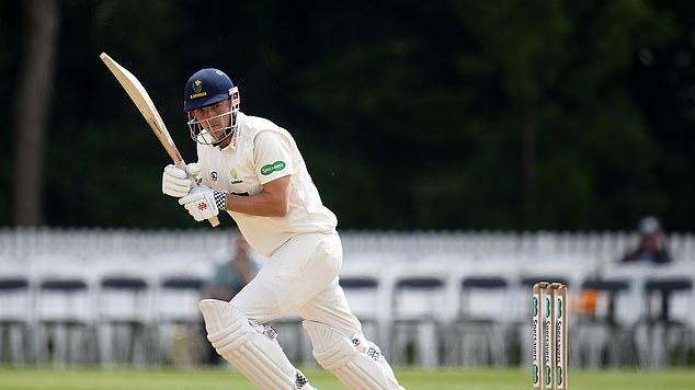 Picture for Meet Charlie Hemphrey... the English cricket star who can't play in England despite being BORN here due to bizarre overseas cricketer regulations