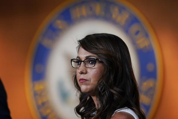 Picture for Lauren Boebert paid rent and utilities with campaign funds, FEC filings show